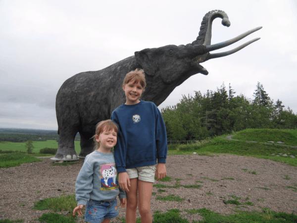 Nova Scotia-Mastodon in Stewiacke