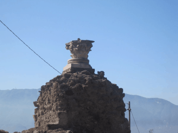 Italy-Pompeii - altar to Venus