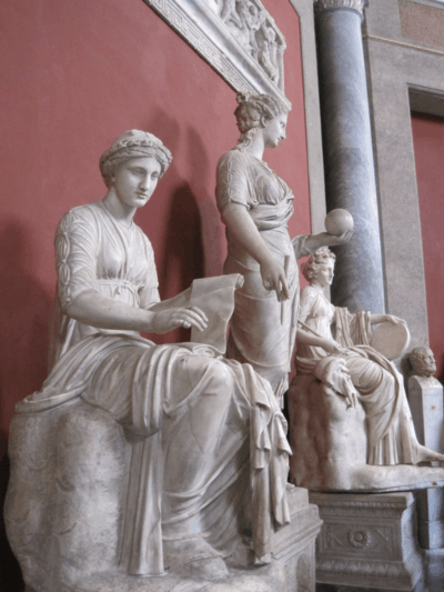 Muses in Vatican Museums