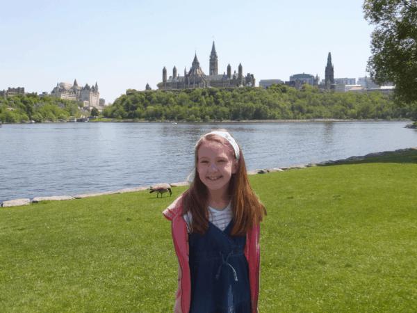 Ottawa-on the banks of the Ottawa River