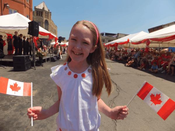 Canada Day festival in Stratford