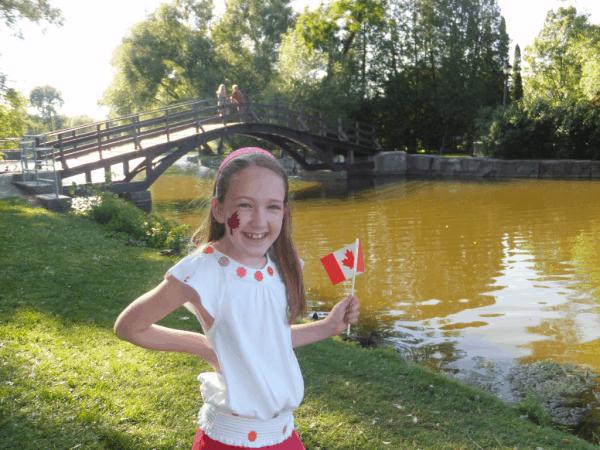 Stratford Ontario on Canada Day