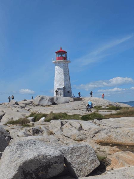 nova scotia-peggy's cove lighthouse