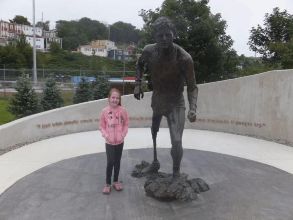 newfoundland-st. john's-terry fox memorial