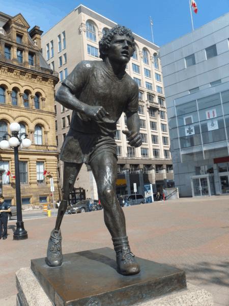 Canada-Ottawa-Terry Fox statue