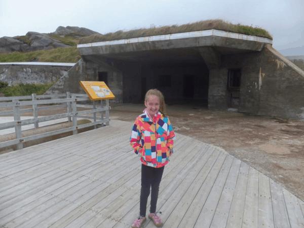 Newfoundland-Cape Spear-bunker