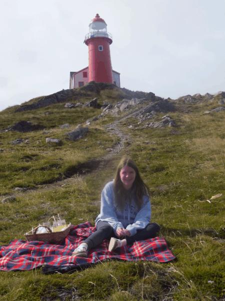 Newfoundland-Picnic at Ferryland Lighthouse