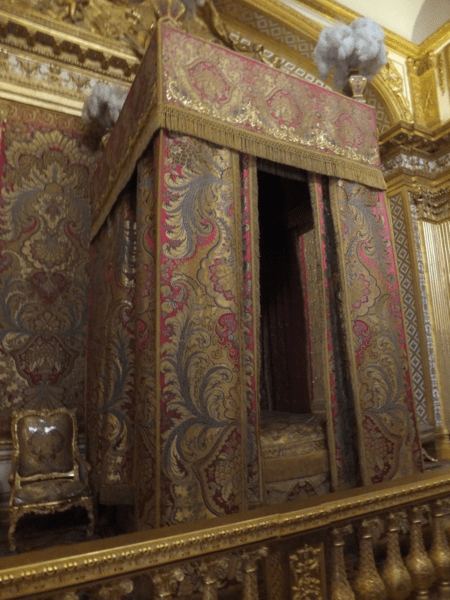 King's Bedroom at Chateau de Versailles