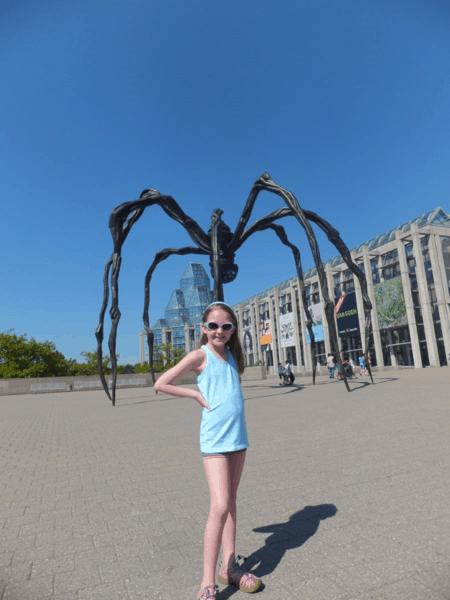 Canada-Ottawa-outside National Gallery