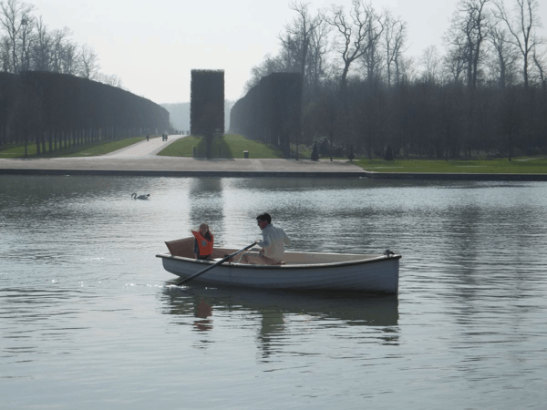 Boating at Chateau de Versailles