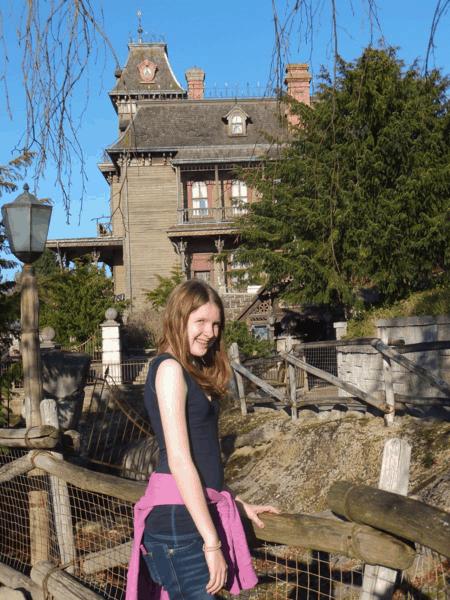 Disneyland Paris-at Phantom Manor