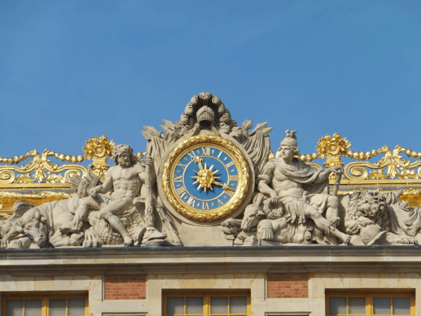 France-Chateau de Versailles clock