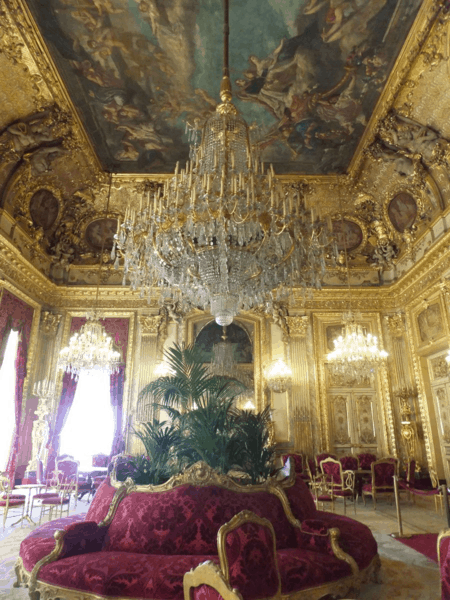 Napoleon Apartments at the Louvre