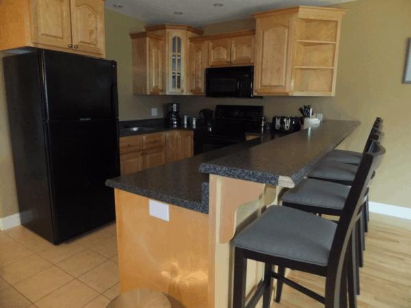 Newfoundland-Terra Nova Resort kitchen