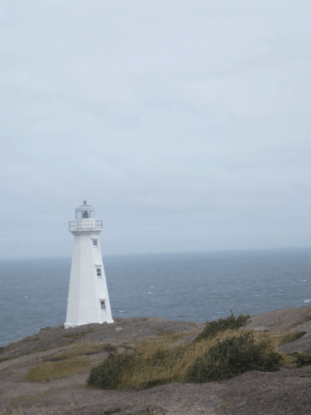Newfoundland-Modern Lighthouse at Cape Spear