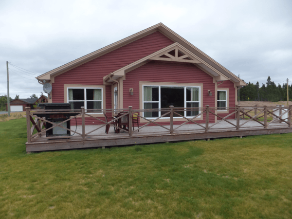 Newfoundland-Terra Nova Cottage - view of rear of cottage