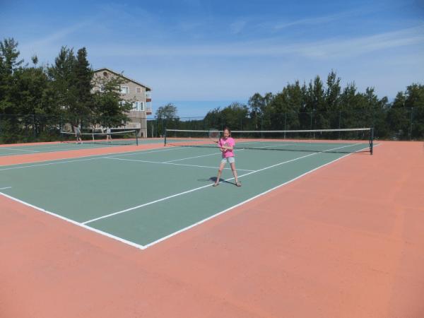 Newfoundland-Terra Nova Resort Tennis Courts