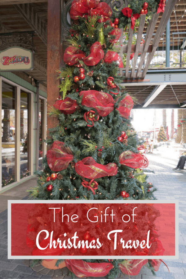 The Gift of Christmas Travel - Gone with the Family