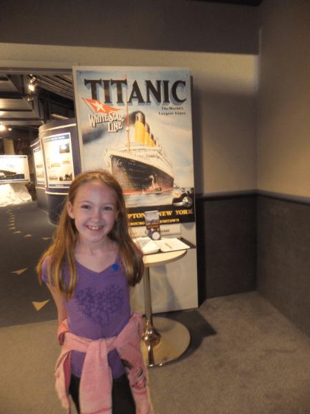 Outside Titanic Exhibit at Johnson Geo Centre-St. John's, Newfoundland