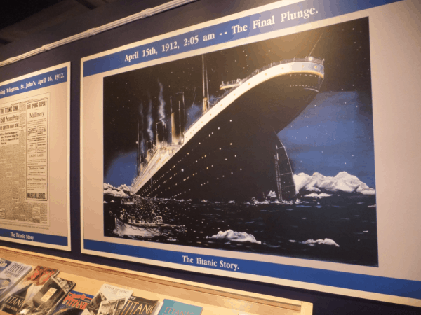 The Titanic Story - The Final Plunge-St. John's, Newfoundland