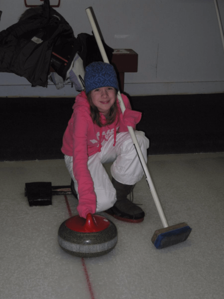 Quebec-Curling at Chateau Montebello