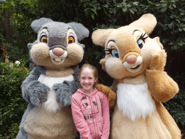 Disney World-Thumper and Miss Bunny