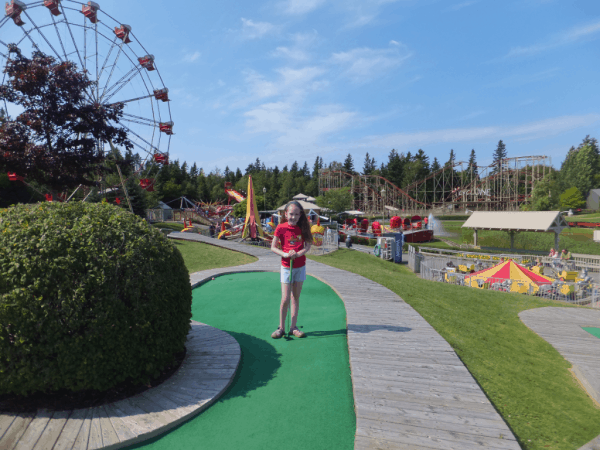 Prince Edward Island-Mini-putt at Sandspit in Cavendish