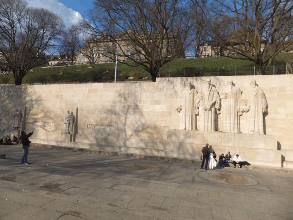 Reformation Wall-Bastions Park-Geneva-Switzerland