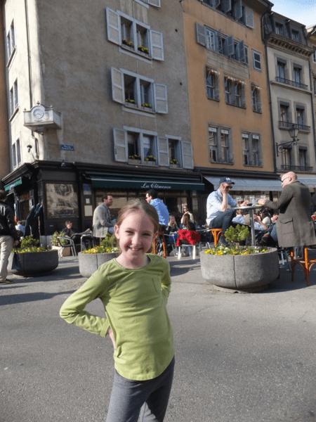 Outside La Clémence-Geneva-Switzerland