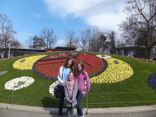 Switzerland-Geneva's Floral Clock