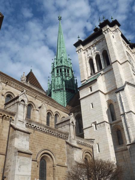 Cathédrale St. Pierre-Geneva-Switzerland