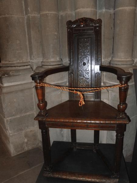 Calvin's Chair-Cathédrale St. Pierre-Geneva-Switzerland