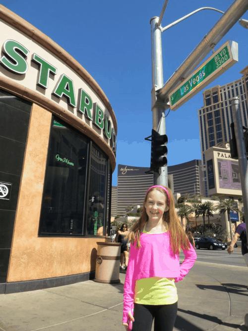 Starbucks on the Las Vegas Strip