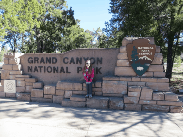 Arizona-Grand Canyon National Park entrance