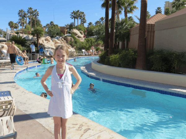 Las Vegas-The Lazy River at Mandalay Bay