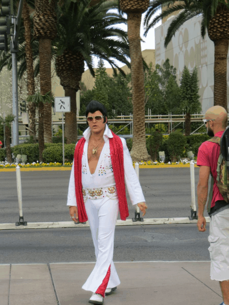 Elvis in Las Vegas