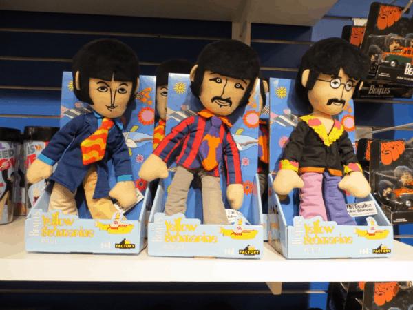 New York City-Beatles dolls at FAO Schwarz
