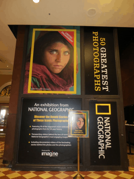Las Vegas-National Geographic 50 Greatest Photographs exhibit