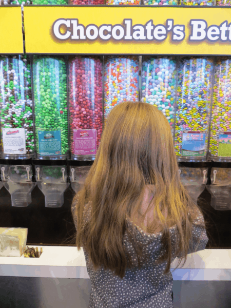 New York City-M&Ms World-Candy Wall