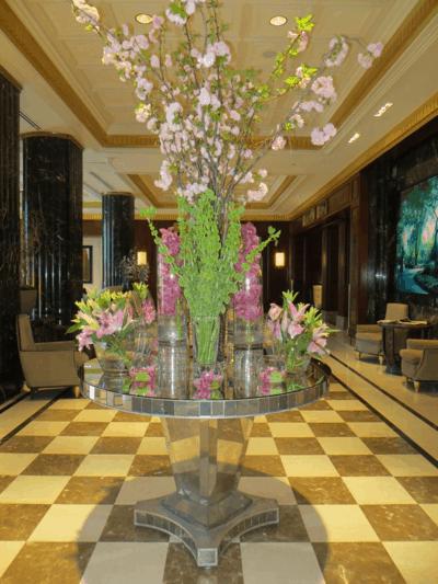 Lobby of JW Marriott Essex House