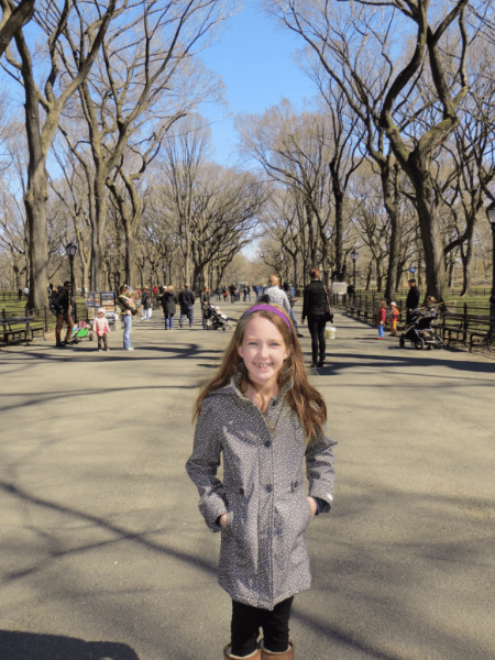 New York City-Central Park-walking on Mall