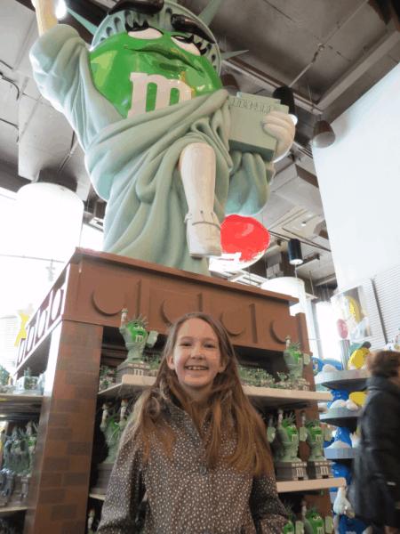 New York City-M&M's World-Statue of Liberty