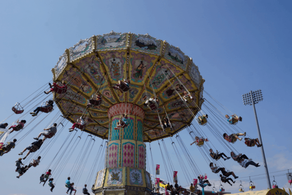 Toronto-canadian national exhibition-midway ride