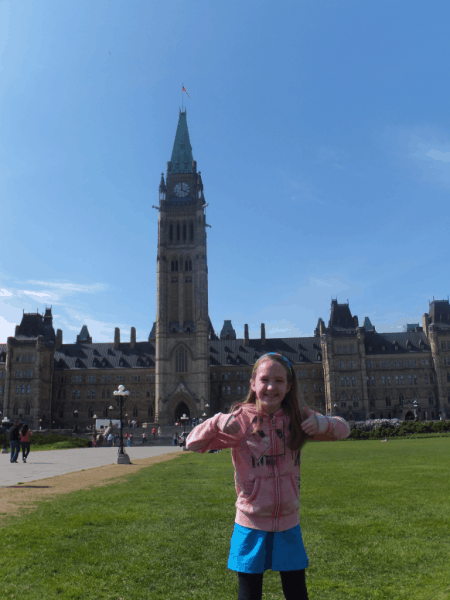 Ottawa-on Parliament Hill
