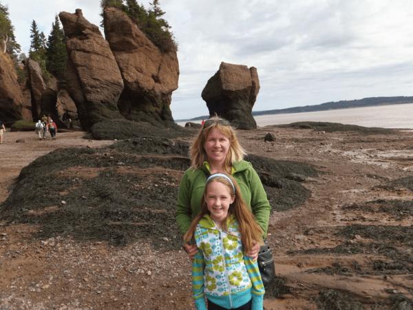 New Brunswick-at Hopewell Rocks