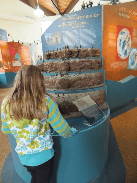 New Brunswick-Learning about Hopewell Rocks