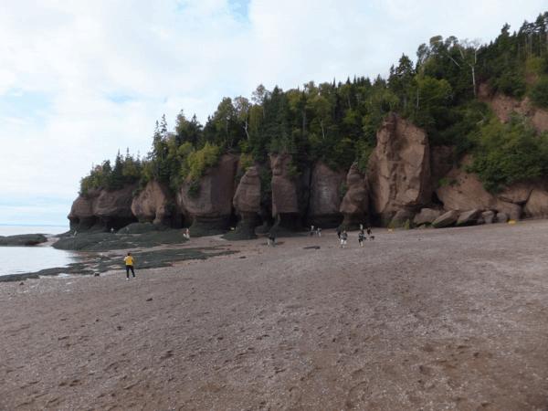 New Brunswick-Hopewell Rocks