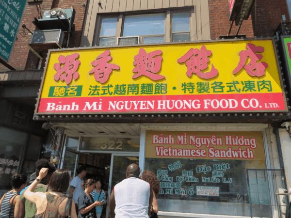 Toronto's Chinatown - Vietnamese sandwich shop