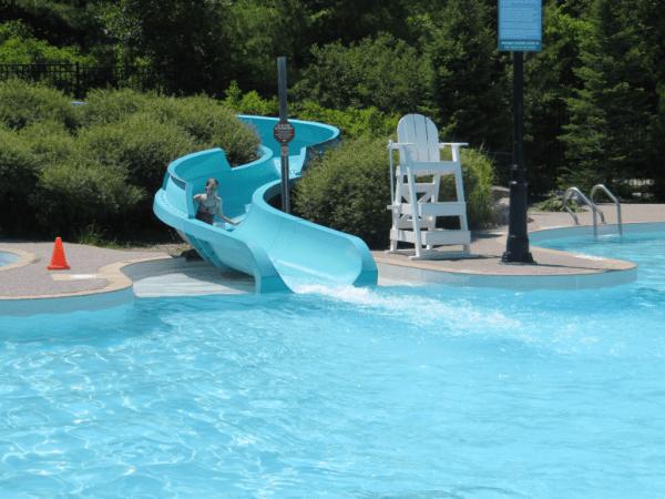 Plunge Aquatic Centre Blue Mountain Water slide