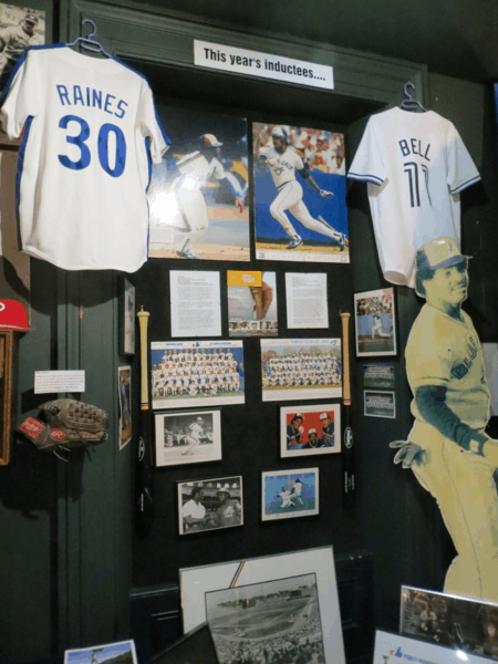 Canadian Baseball Hall of Fame-Recent Inductees - Tim Raines and George Bell